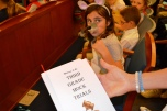 Mock trials teach third graders valuable lessons on justice.