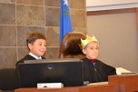 Jr. Judges hear the Big Bad Wolf case.
