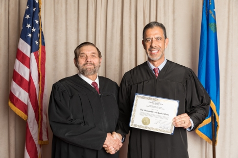 Judge Villani was awarded The Certificate in Judicial Development General Jurisdiction Trial Skills with a plaque and certificate from the Judicial College. Judge Villani has 442.51 hours of continuing judicial education credit which qualified him for the Advanced Judicial Education Certificate.