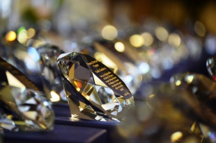 Beautiful diamond awards were presented to Truancy Diversion Program volunteers