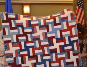 The local chapter of Quilt of Valor meets the second Friday of the month. Volunteers are always welcome; no quilting experience is necessary. For more information call 702-357-0377.