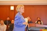 Judge Nancy Allf keeps things moving at Civil Bench Bar.