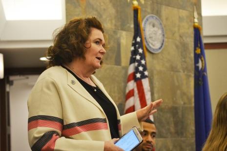 Judge Gloria Sturman.