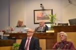 Kris O'Conner, Judge Matthew Harter, Judge Bill Henderson and Judge Frank Sullivan at Family Bench-Bar.