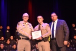 District Court Marshal Raymundo Enriquez successfully completed intense training to graduate with classmates from the Southern Desert Regional Police Academy.