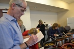 udge Linda Bell, Judge Doug Herndon and Judge Susan Johnson were busy judging the chili.