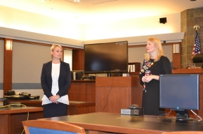 A presentation was also made on how law firms can to get paralegal help on projects without staffing up.