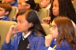 After watching the wheels of justice turn in the courtroom the wheels in the students' minds were turning.