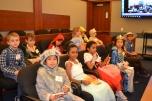 Las Vegas Day School Jr. jurors take great notes.