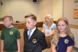 Student marshals hold down the courtroom.