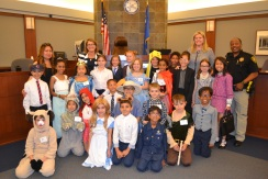 Las Vegas Day School third graders do a great job with their Goldilocks mock trial.