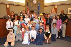 Las Vegas Day School third graders do a great job with their Goldilocks mock trial.