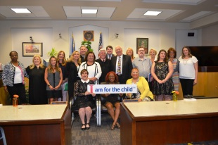 Seventeen new CASA volunteers have opened their hearts to children who have endured abuse and neglect. The volunteers took an oath to speak on behalf of  kids.
