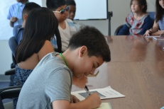 Fourth graders from Hickey Elementary took their role as jurors very seriously.