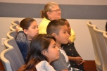 Teachers from Hickey elementary school brought their students to court to get a first hand look at justice in action.