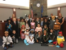 Las Vegas Day School third graders do a great job with their little pig mock trial.