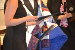 Quilts of Valor awards a quilt to Veterans' Court grad.