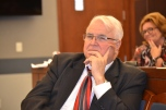 Judge Doug Smith during June Bench Bar meeting.