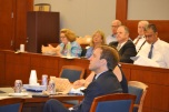 The Civil Bench-Bar meetings occur on the second Tuesday of each month at noon. They are a great way for attorneys to get up to the minute court news and get questions and concerns addressed by the bench, and to network while you enjoy lunch.
