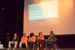 Nevada Eighth Judicial District Court Judge William Voy who presides over juvenile cases was on a panel along with Nevada Assemblyman Tyrone Thompson, Dr. Tiffany Tyler, Dr. Tammy Malich and Clark County Department of Juvenile Justice Services Director Jack Martin.