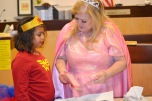 Eighth Judicial District Court family Judge Cynthia Giuliani transformed into a fairy godmother to make adoptions dream come true for 21 children on Halloween. She received a beautiful thank you card from one of the superheroes who was adopted.