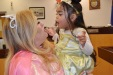 The princess with the fairy godmother. Eighth Judicial District Court family Judge Cynthia Giuliani transformed into a fairy godmother to make adoptions dream come true for 21 children on Halloween.