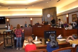 The mock trials are a cooperative effort between the Nevada Eighth Judicial District Court, nonprofit agency Project REAL and the school.