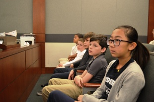 "We've all heard the cliché crime doesn't pay. The fifth graders from Vanderberg got a first-hand look at why the ""cliché"" is actually true, including those who visited District Court Judge Michael Villani's courtroom to watch his felony criminal calendar proceedings."