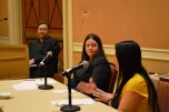 A gambling diversion treatment court mock trial moderated by Eighth Judicial District Court Judge Cheryl Moss filled a conference room at the 17th International Conference on Gambling & Risk Taking on May 30 at Caesars Palace Hotel & Casino in Las Vegas.