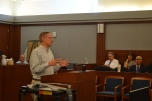 Judge Joe Hardy provided a very informative session on proposed changes to court rules.